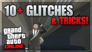 getlinkyoutube.com-GTA 5 Glitches - 10+ Glitches & Tricks on GTA 5 Online (Camber Vehicle, Wheelie Glitch, Secret Room)