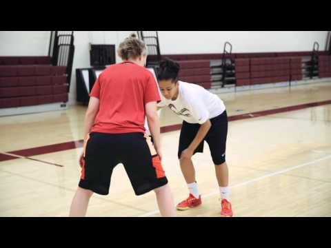 How to Beat Your Defender off the Dribble Basics - Step 5 - Cutting defender off