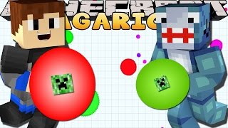 getlinkyoutube.com-Minecraft Games - Sharky & Scuba Steve - AGARIO!!