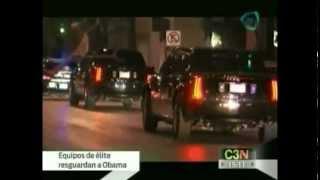 Equipos de elite son encargados de la seguridad de Barack Obama / Obama visits Mexico