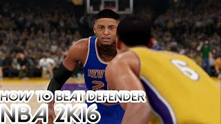 getlinkyoutube.com-NBA 2K17: How To Get Past Your Defender Tutorial