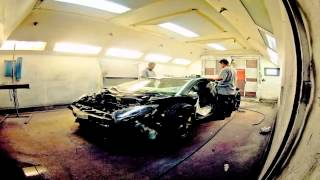 La Lamborghini Aventador de Kanye West customisée par MotorSport