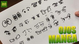 getlinkyoutube.com-COMO DIBUJAR OJOS ANIME - COMO DIBUJAR OJOS MANGA - How to draw manga eyes