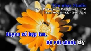 getlinkyoutube.com-KARAOKE Duyên Số Cầm Ca   Uyên Trang