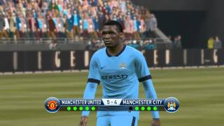 getlinkyoutube.com-penalty shoot out Manchester United vs Manchester city fc pes 2015