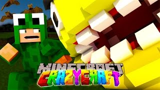 getlinkyoutube.com-Minecraft - CRAZYCRAFT 3 - LIVE - KILLING PACMAN! #5