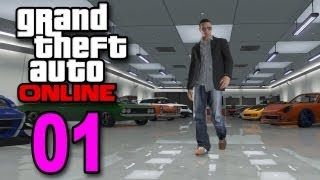 getlinkyoutube.com-Grand Theft Auto 5 Multiplayer - Part 1 - Welcome to Online (GTA Let's Play / Walkthrough / Guide)