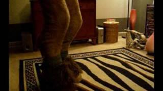 getlinkyoutube.com-Make faun(digitgrade) legs tutorial