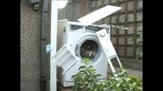 getlinkyoutube.com-The Original Washing Machine Self Destructs