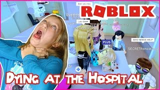 Dying At The Hospital in MeepCity