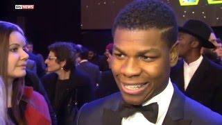 Star Wars Actor John Boyega At UK Premiere