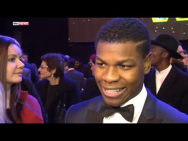 Star Wars Actor John Boyega At UK Premiere