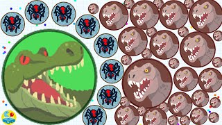 getlinkyoutube.com-Agario Solo Epic Spider Skin Dominating The Server Trolling With Free Mass!(Agar.io Funny Moments)