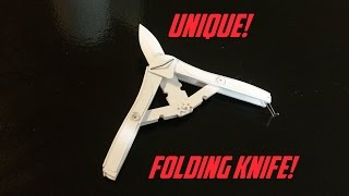 getlinkyoutube.com-Unique Paper Folding Knife!