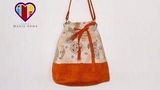 getlinkyoutube.com-Bolsa sacola de tecido Melissa - Maria Adna Ateliê - Cursos e aulas de bolsas de tecido