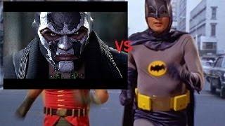 Batman Arkham Origins Adam West vs. Bane