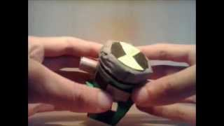 getlinkyoutube.com-Ben 10 alien force paper omnitrix version 2