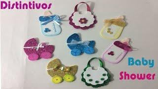 Como hacer distintivos para BABY SHOWER