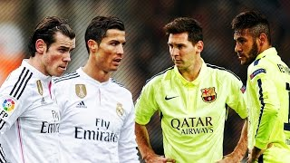 getlinkyoutube.com-Lionel Messi & Neymar vs Ronaldo & Bale 2015 ● Skills & Goals Battle | HD