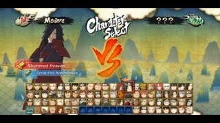 getlinkyoutube.com-Naruto Shippuden UNS3 All Characters Ninjutsus & Ultimate Jutsus