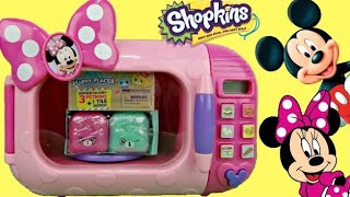 Disney MINNIE MOUSE Magical Microwave Playdoh, Mickey Clubhouse Friends Shopkins Happy Places / TUYC