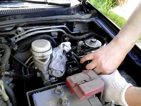Замена топливного фильтра мицубиси паджеро спорт