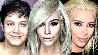 getlinkyoutube.com-Man Turns Into Kim Kardashian - Shocking Transformation