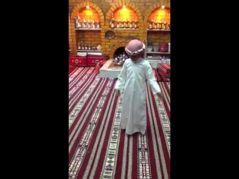 رقص طفل سعودي / طياره