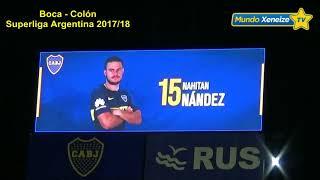 Mirá quienes fueron los mas aplaudidos (Boca - Colón 2018)