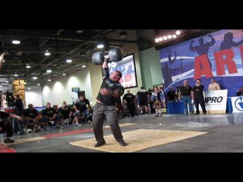 Derek Poundstone 2010 Arnold Strongman Classic