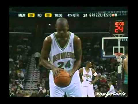 Jamal Mashburn 50pts + Game-Winning Shot vs. Grizzlies (02.21.2003)