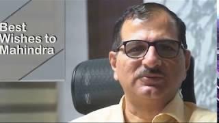 Mahindra RoadMaster G75   Motor Grader   Testimonial of Mr.Sanjay Londhe, Ashoka Buildcon Ltd