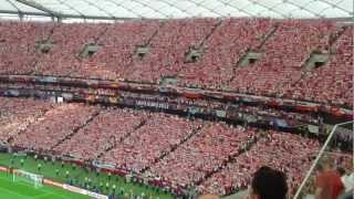 getlinkyoutube.com-Euro 2012: Poland-Greece. The National Anthem of Poland / Polska-Grecja. Hymn Polski