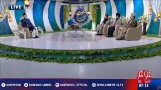 Subh E Noor (Hazrat Harisa Bin Saraqa R.A o Hazrat Umair Bin Abi Waqas R.A) - 28-01-2017 - 92NewsHD