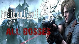 resident evil 4 all boss fights