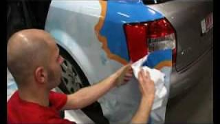 getlinkyoutube.com-Carwrapping AUDI A4 multi-fix