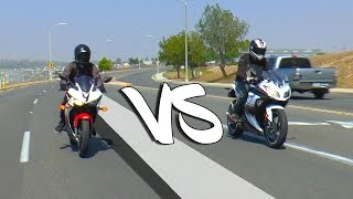getlinkyoutube.com-2016 Yamaha R3 VS Ninja 300 | REVIEW/DYNO
