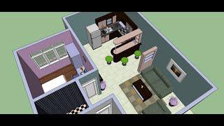 getlinkyoutube.com-Make an Interior Design with Google Sketchup