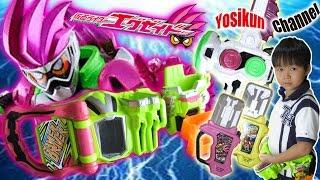 getlinkyoutube.com-DX仮面ライダーエグゼイド トイザらス限定 スペシャルなりきりセットのご紹介です♪
