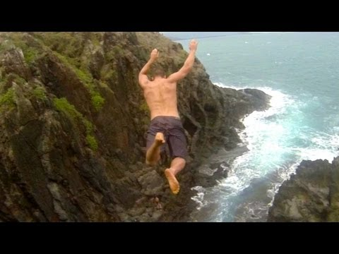 Skokovi sa stene na Havajima