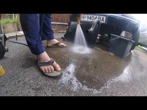 Как промыть и почистить передние радиаторы chrysler dodge