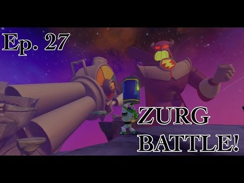 Disney Infinity - Toy Story In Space - Ep. 27 - ZURG BATTLE! - Gameplay Walkthrough