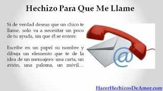 getlinkyoutube.com-Hechizo Para Que Me Llame