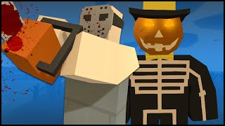 Unturned Halloween Update Gameplay - NEW HALLOWEEN PEI MAP, SKINS & HALLOWEEN GIFT OPENING! (3.13.3)