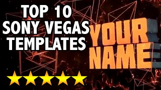 getlinkyoutube.com-TOP 10 SONY VEGAS INTRO TEMPLATES! (BEST)