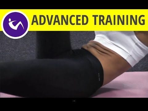 Advanced training for lower abdominal muscles - avoid if you have back problems or adjust workouts