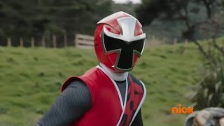 "getlinkyoutube.com-Power Rangers Ninja Steel Episode 1 ""Return of the Prism"" - Intro Scene (Original Red Ranger)"