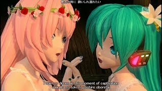 getlinkyoutube.com-[60fps Full風] Magnet マグネット-Hatsune Miku Megurine Luka 初音ミク 巡音ルカ DIVA English lyrics romaji subtitles