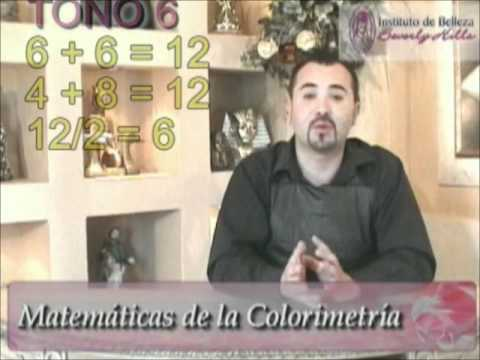 BELLEZA  COLORIMETRIA profesor cesar amaral VIDEO 2