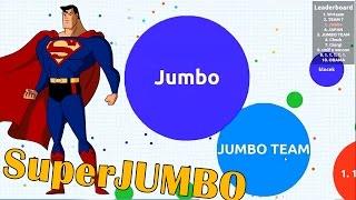 getlinkyoutube.com-SuperJUMBO Team - Agar.io Gameplay